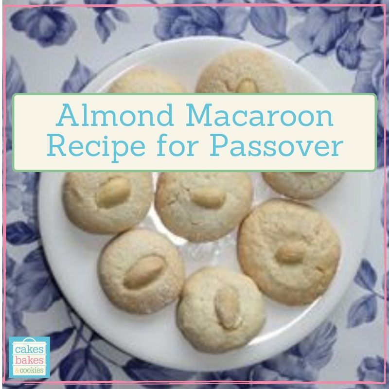 almond macaroon recipe for passover