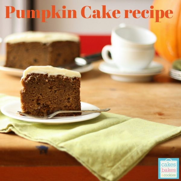 Pumping spice cake recipe