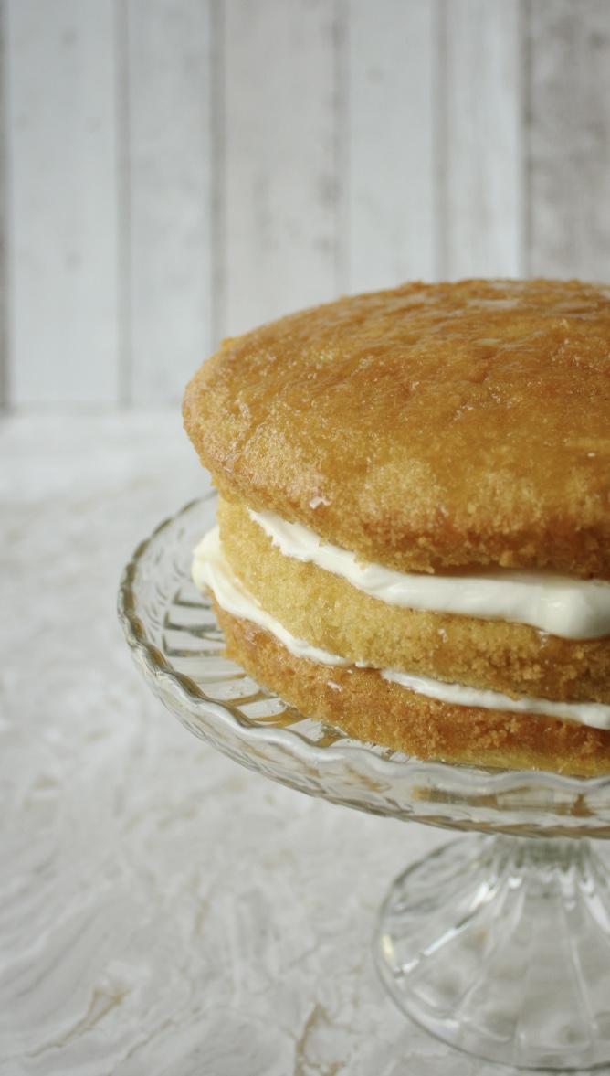 lemon victoria sponge cake recipe
