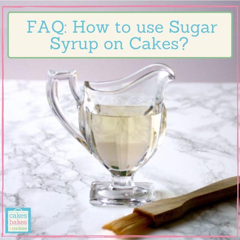 sugar syrup recipe